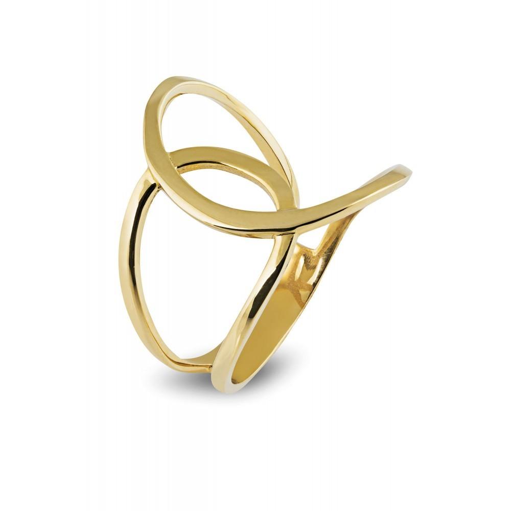 Geelgouden ring LYK38