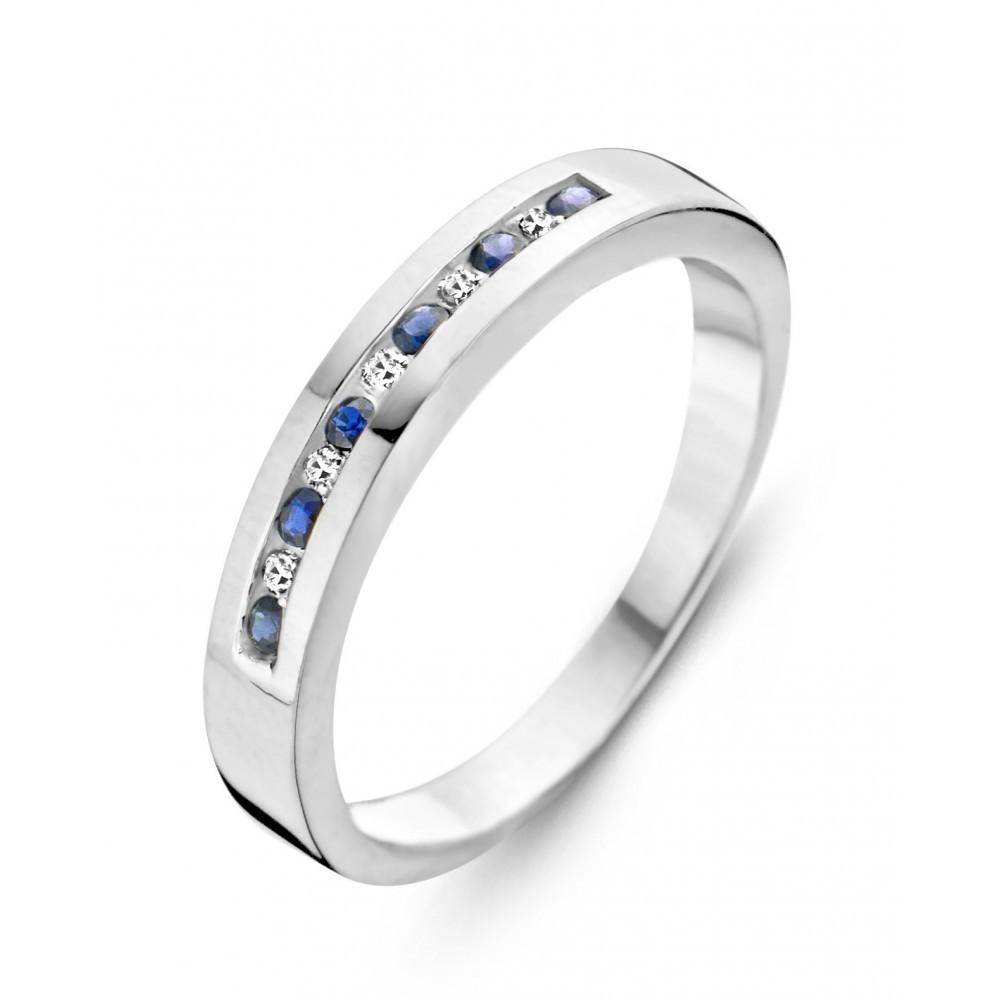 Witgouden ring 0,03crt 05799RFZ0003W