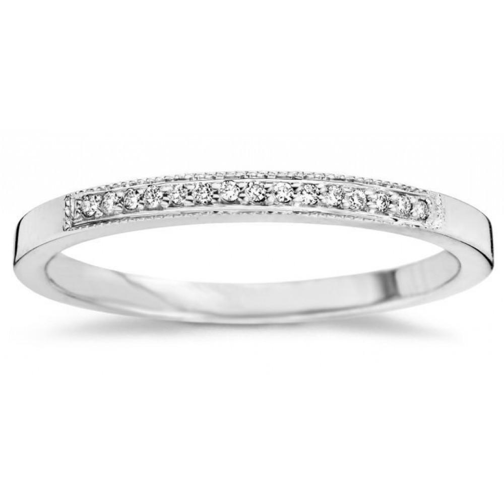 Witgouden ring met diamant 05886RF0005MW1