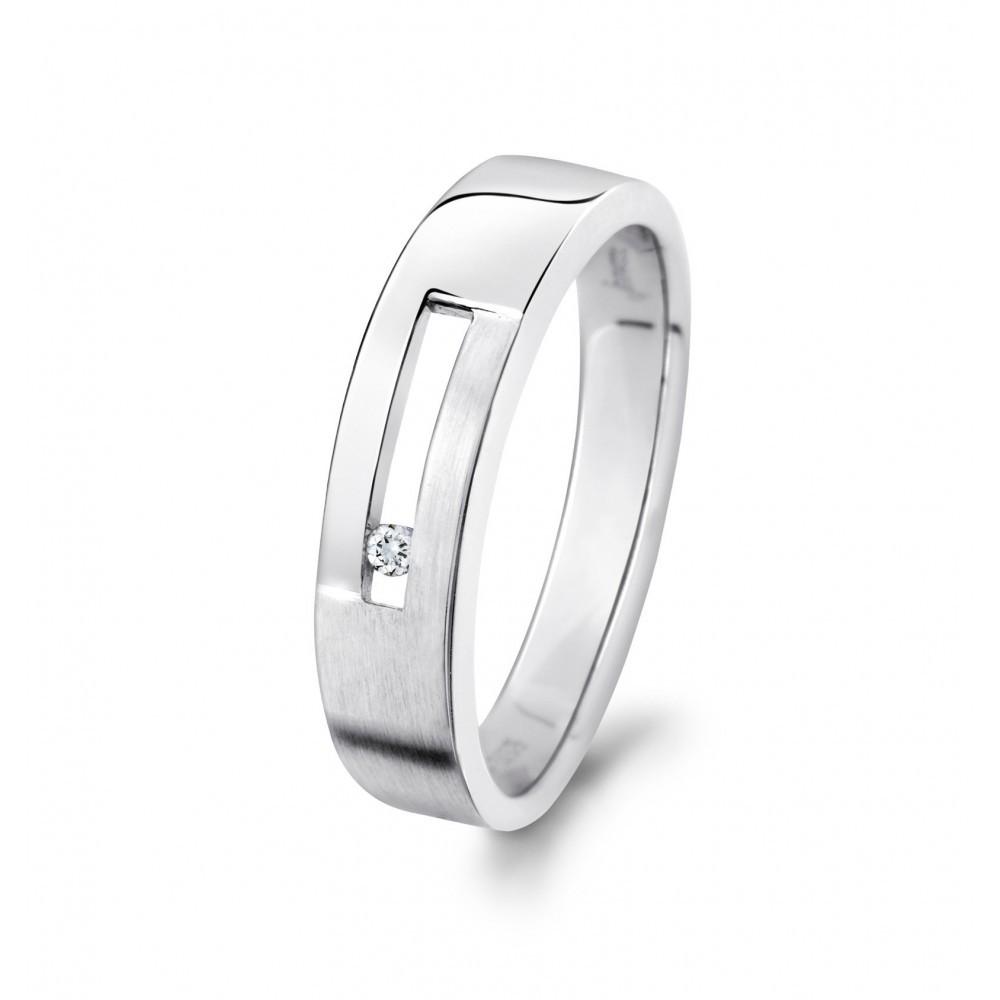 Witgouden ring 0,02crt 07568RF0002W