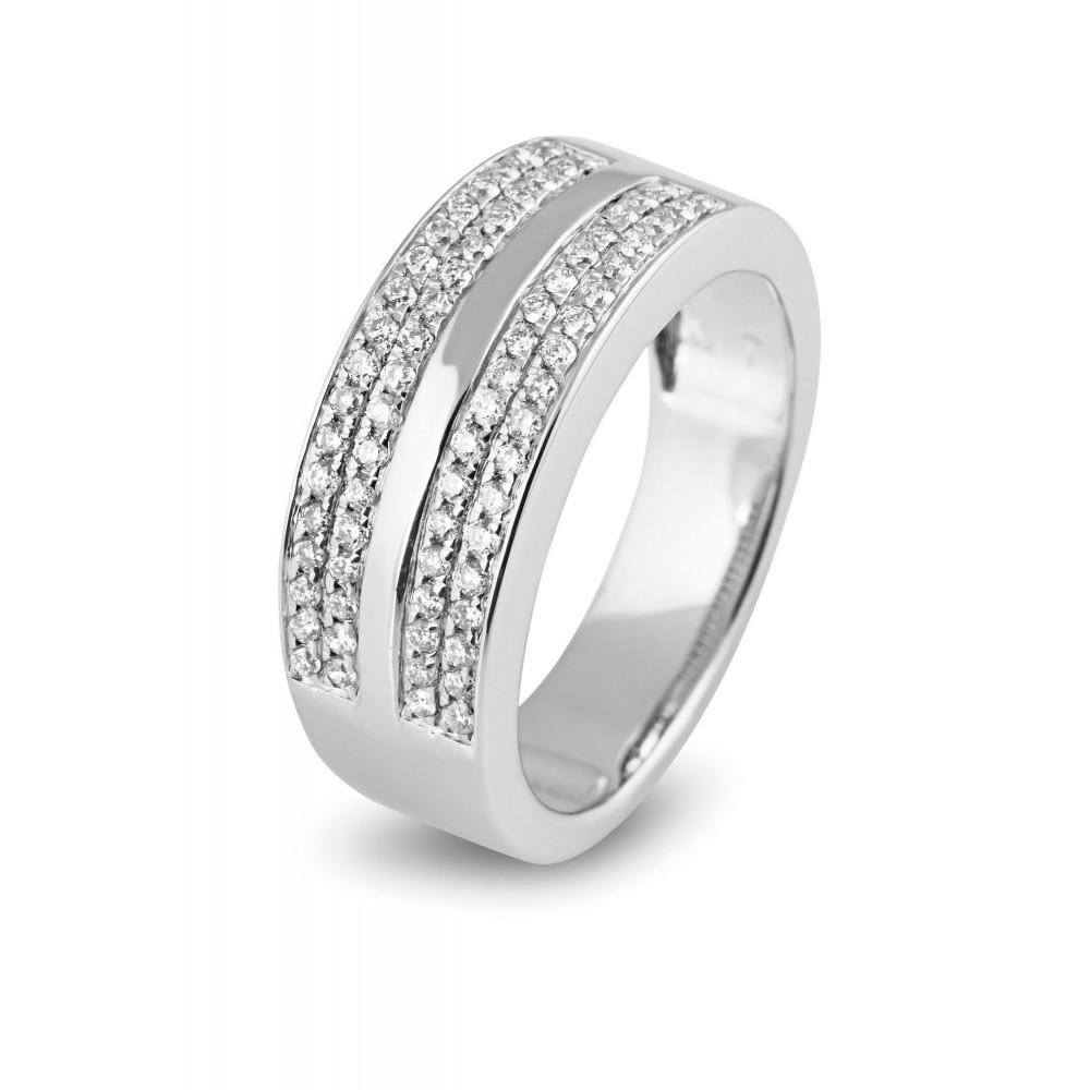 Witgouden ring met diamant OS00033RF0035