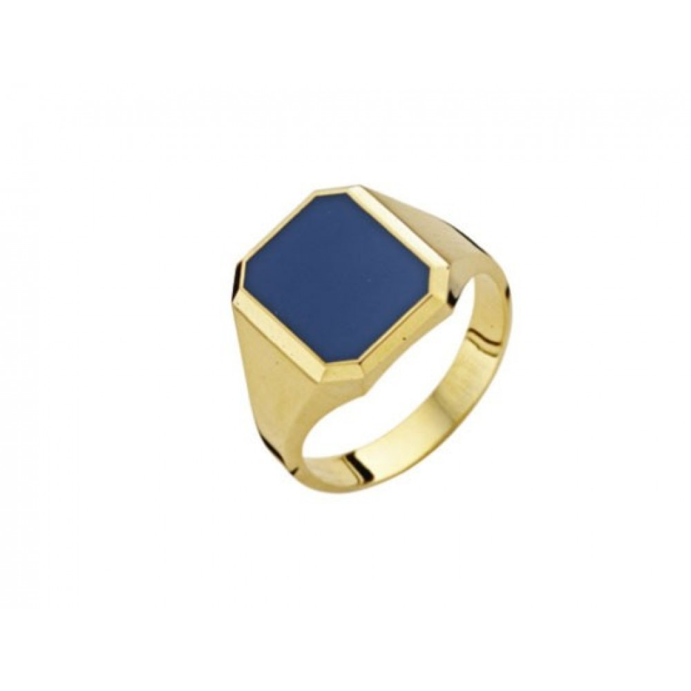Gouden zegelring met lagensteen 516016372