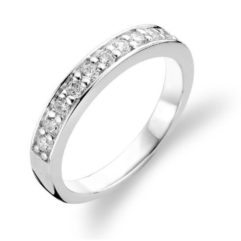 Zilveren ring met zirkonia 1151ZI