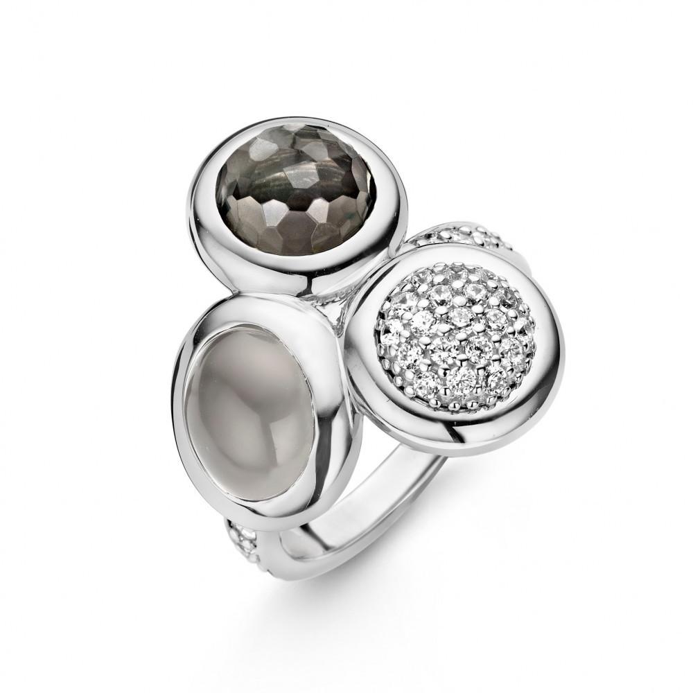 Zilveren ring 12013DG