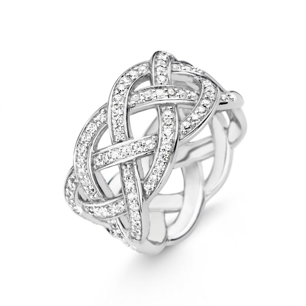 Zilveren ring 12026ZI