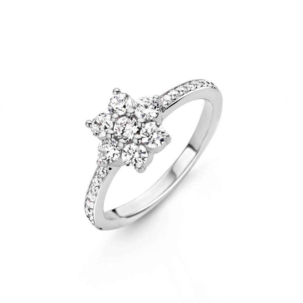 Zilveren ring 12035ZI