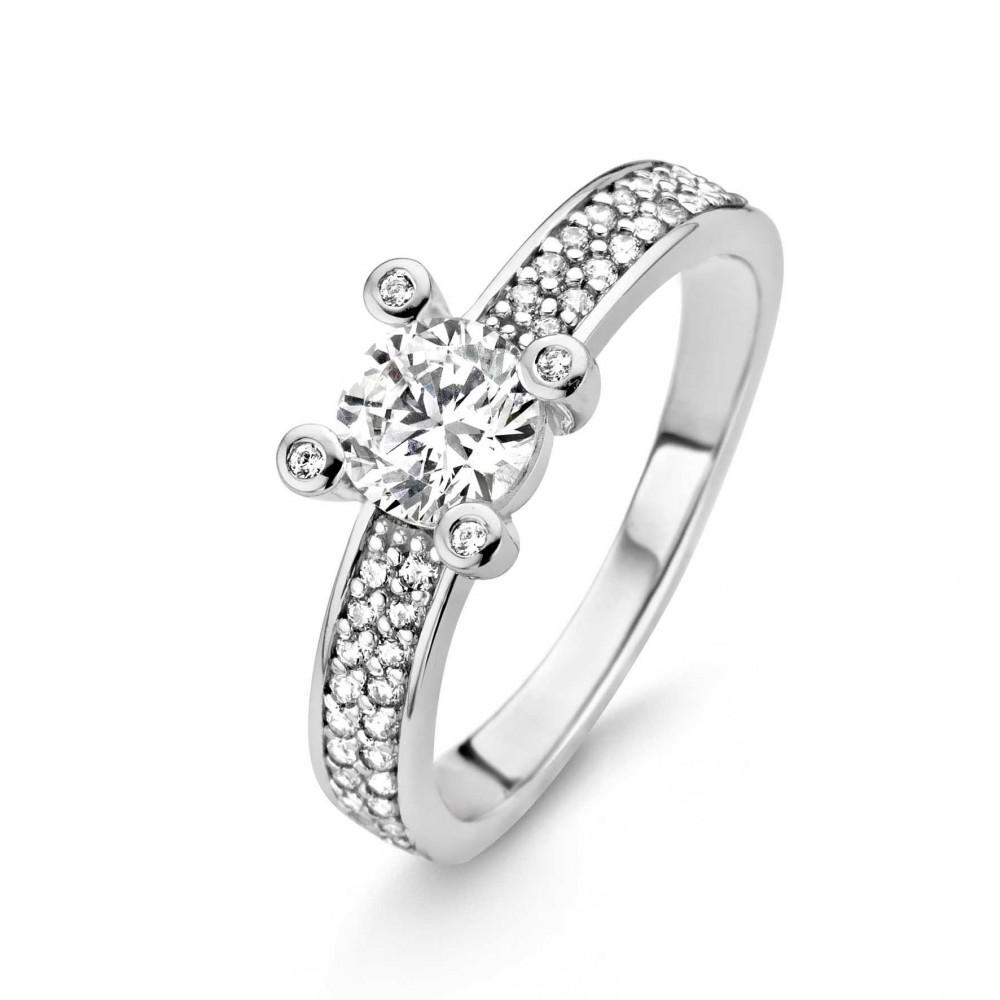 Zilveren ring 12041ZI