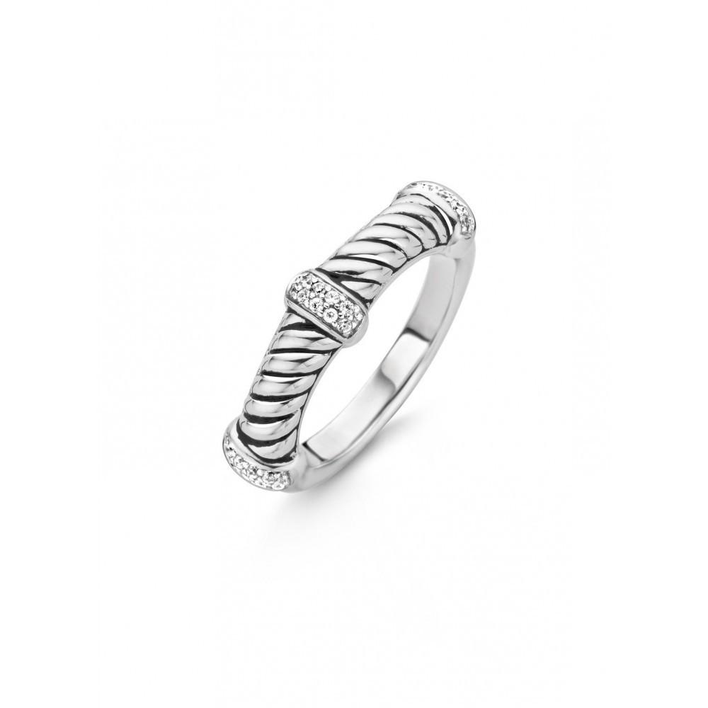 Zilveren ring 12048ZI