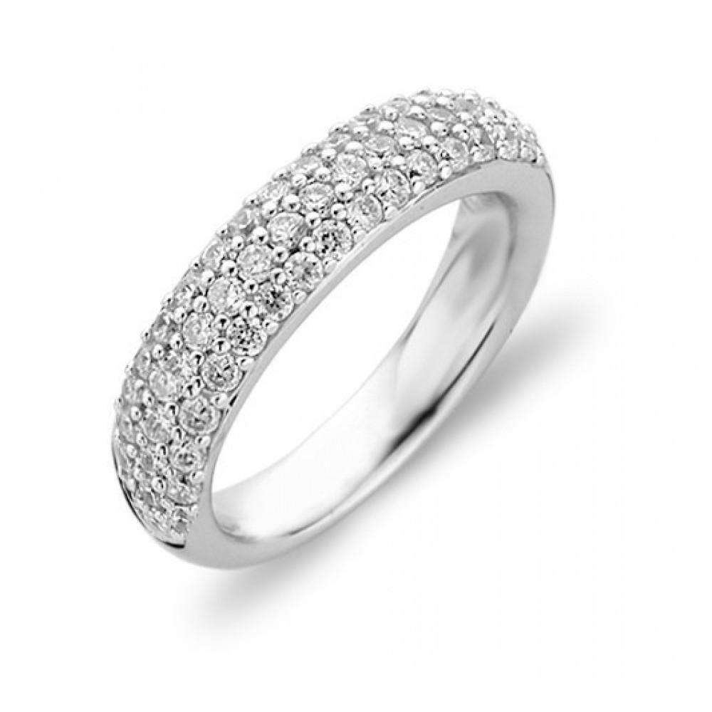 Zilveren ring met zirkonia 1304ZI