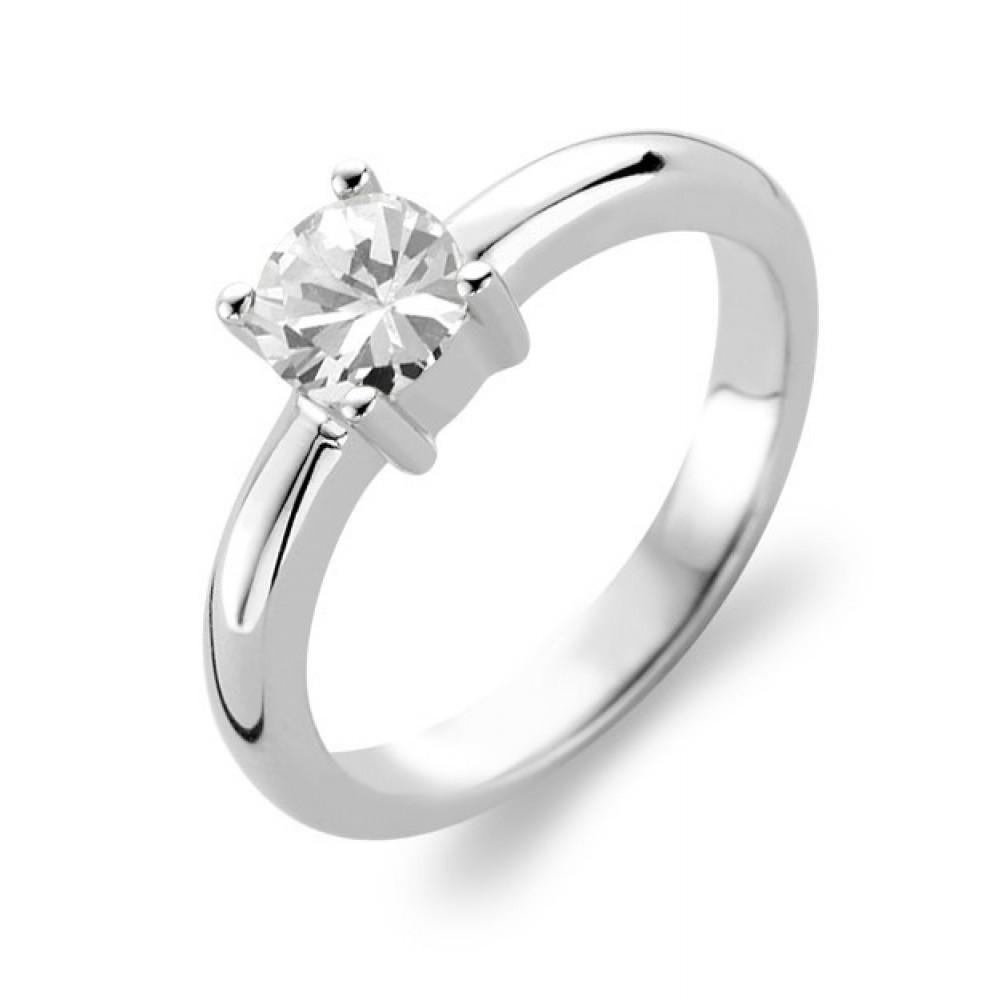 Zilveren ring met zirkonia 1463ZI