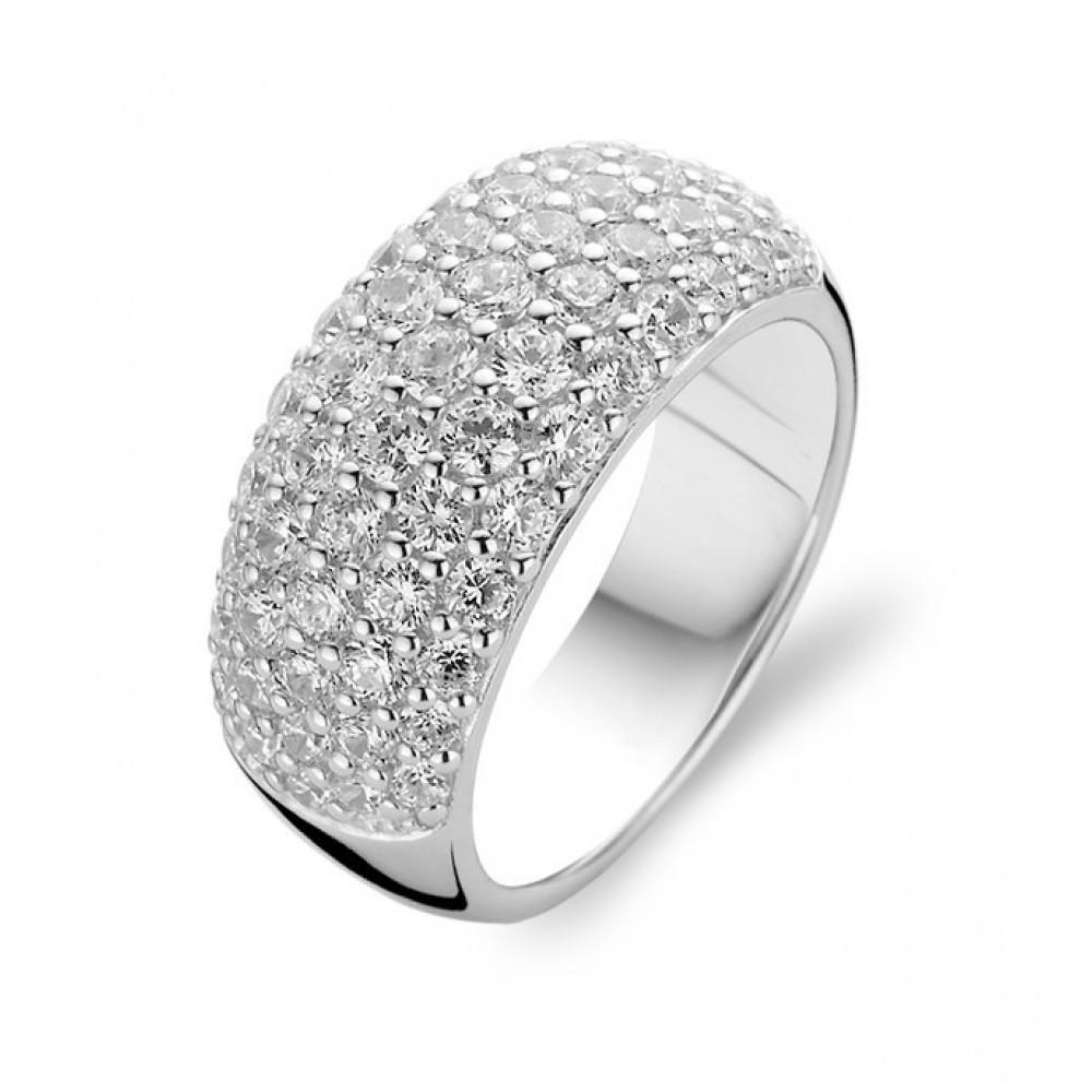 Zilveren ring met zirkonia 1546ZI