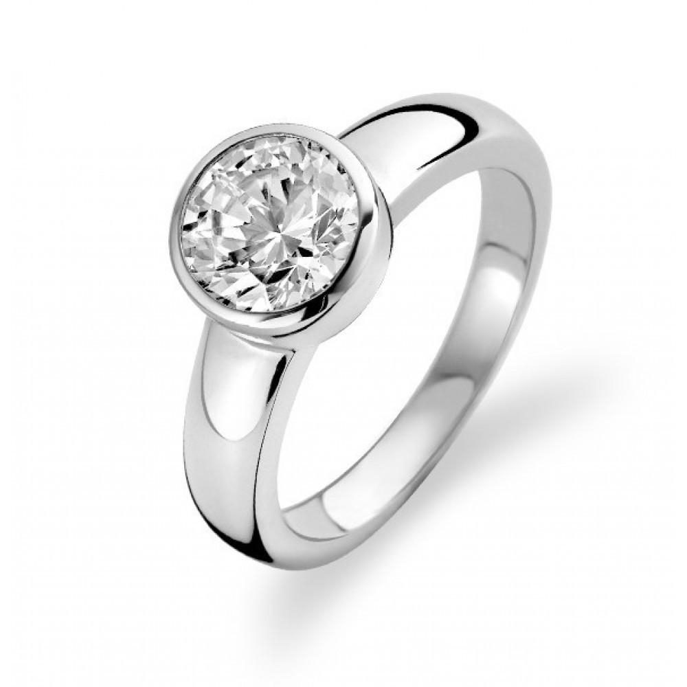 Zilveren ring met zirkonia 1616ZI