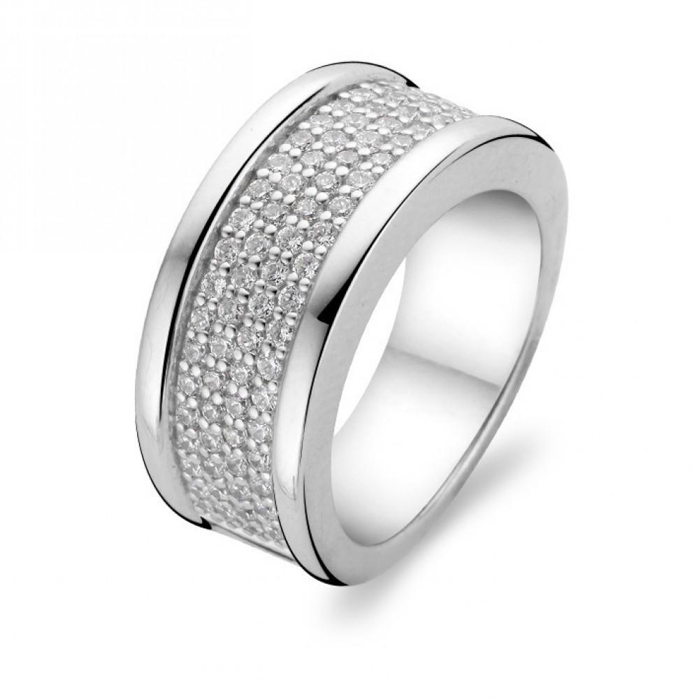 Zilveren ring met zirkonia 1775ZI