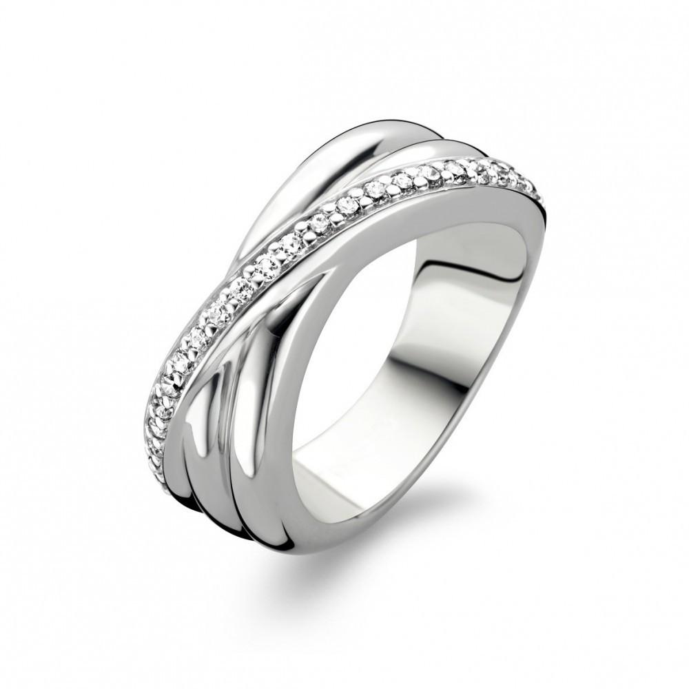 Zilveren ring met zirkonia 1861ZI