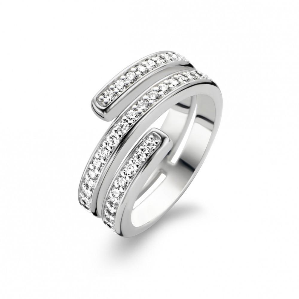 Zilveren ring met zirkonia 1866ZI