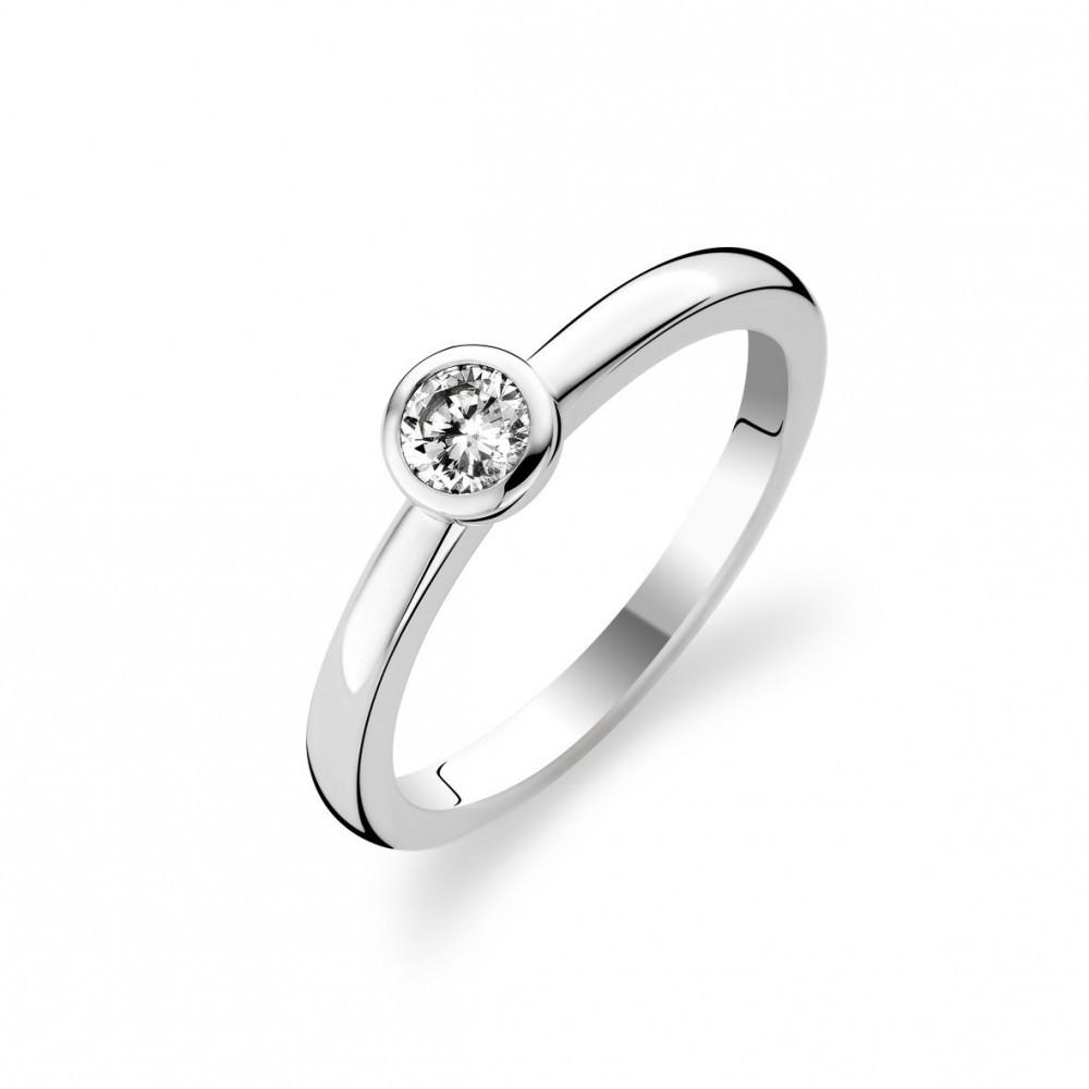 Zilveren ring met zirkonia 1868ZI