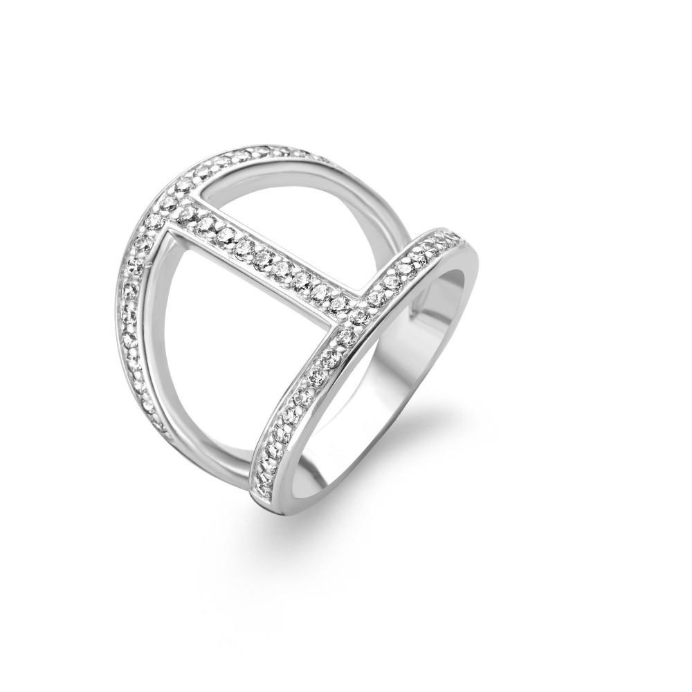 Zilveren ring 1987ZI