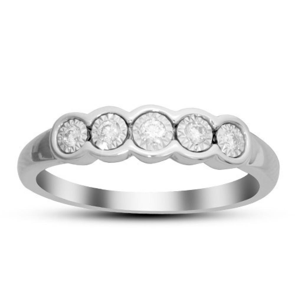 Witgouden ring gezet met diamant IGR-25369