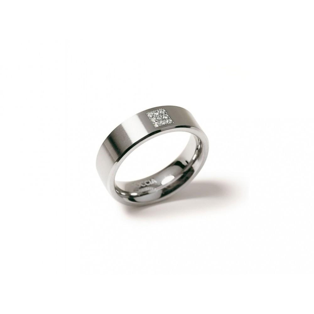Titanium ring met diamant 0101-13
