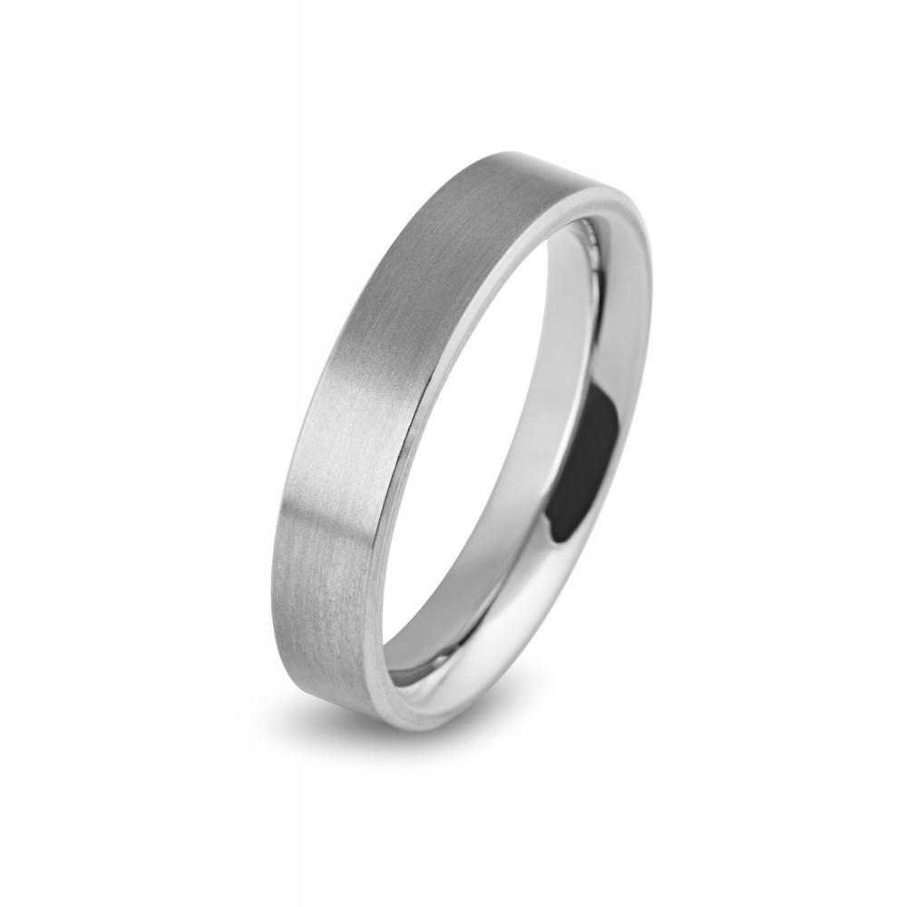 Matte titanium ring 0121-03