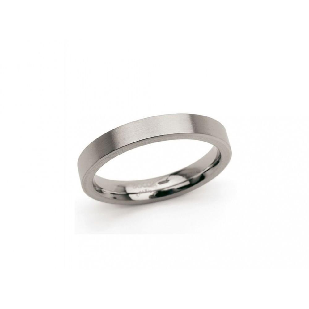 Gematteerde titanium ring 0120-03