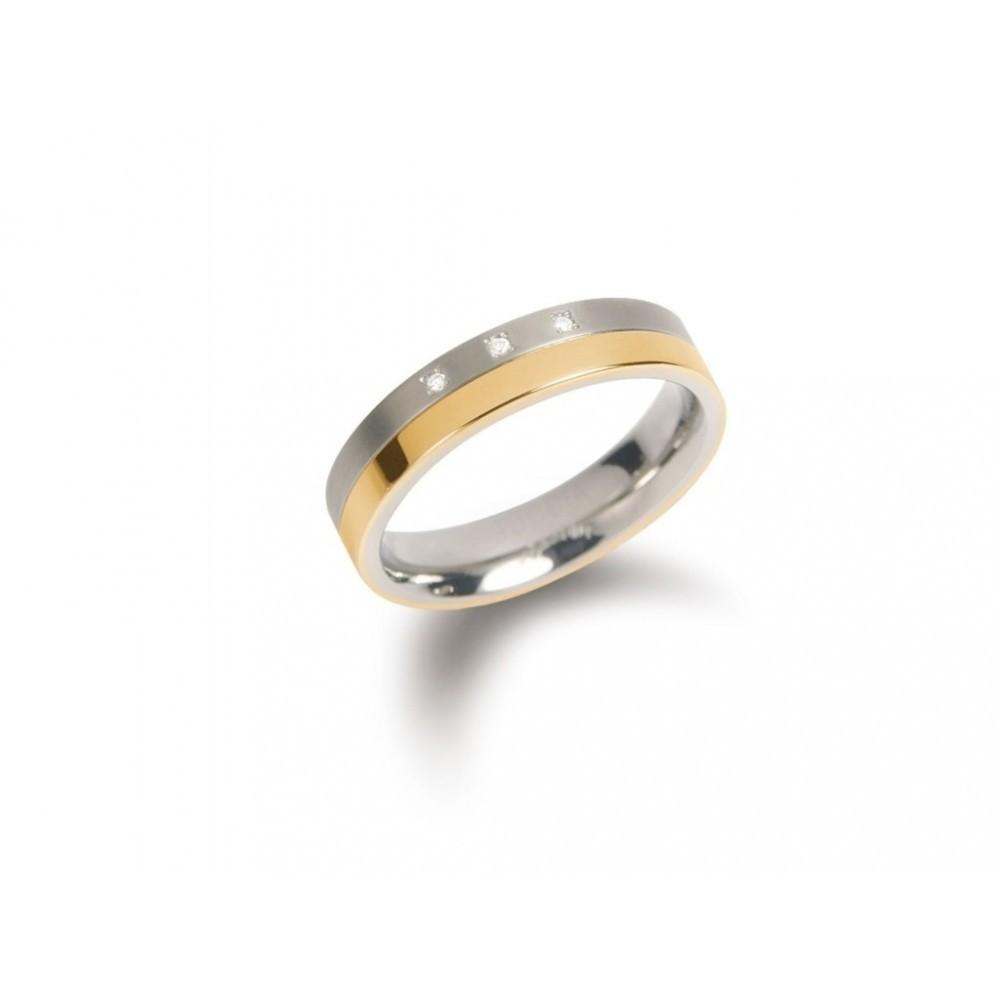 Titanium ring 0,045crt 0129-04