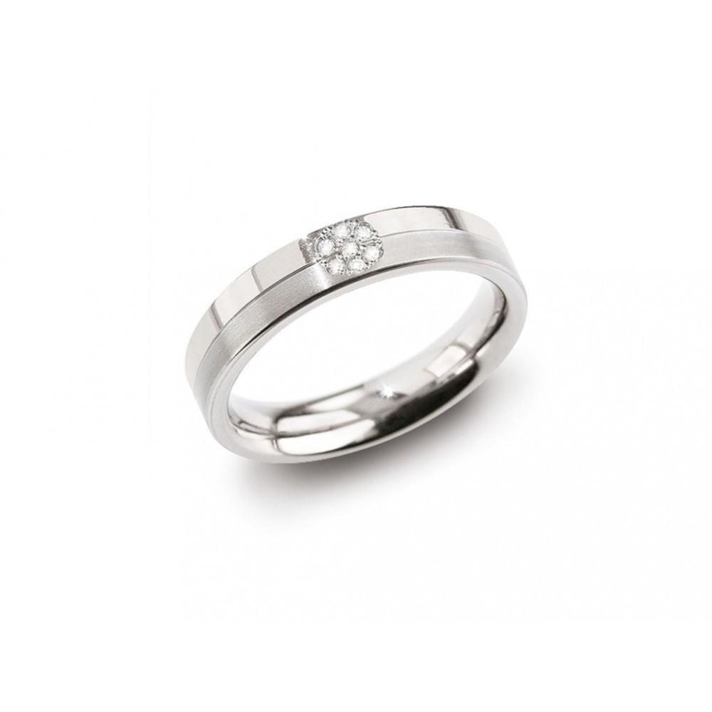 Titanium ring 0,035crt 0129-05