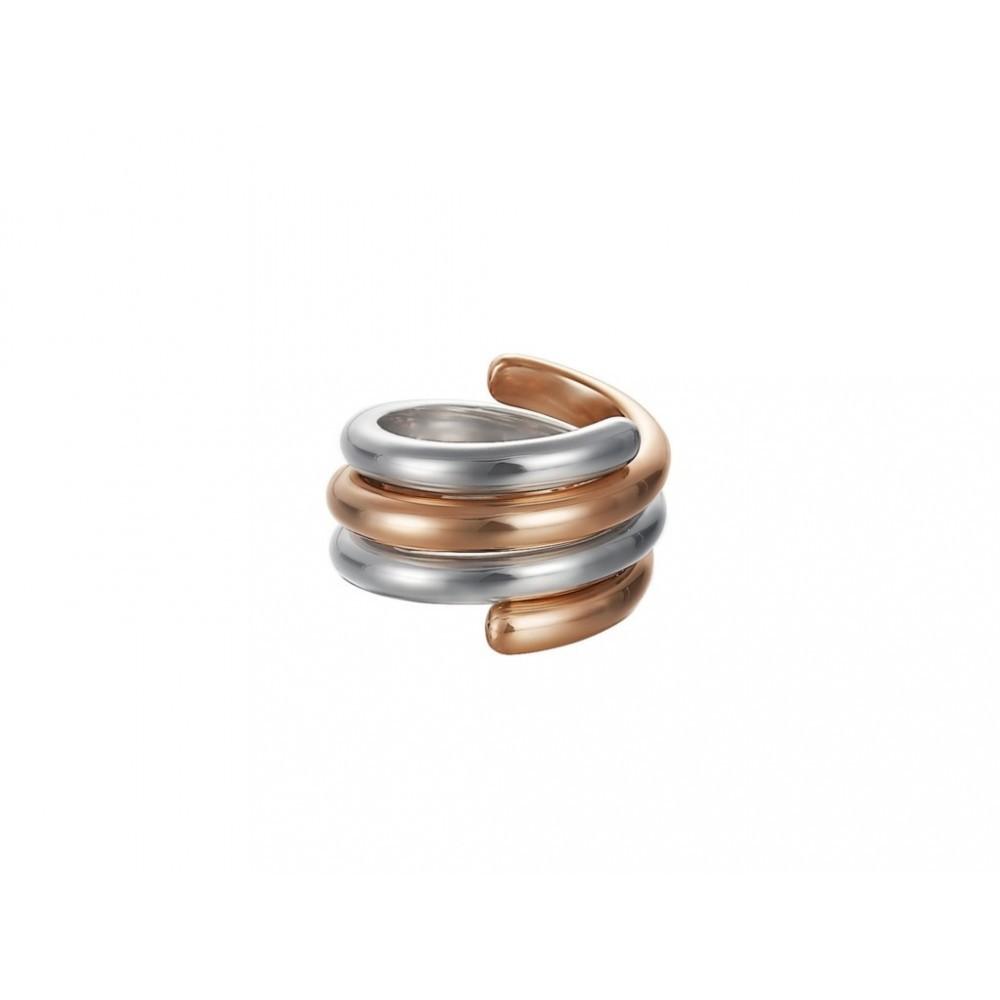 Ring Swiveled Bicolor Rose ESSE90969B160