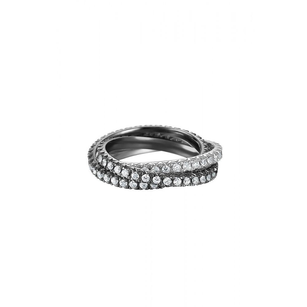 Ring Shining Brilliance Triple black ESRG91885C160