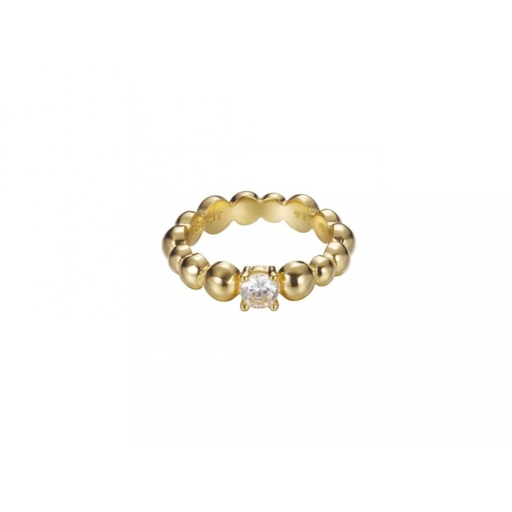 Ring Solo Pellet Gold ESRG92321B180