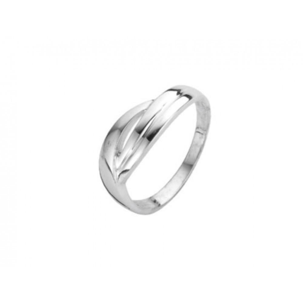 Zilveren damesring 6150010