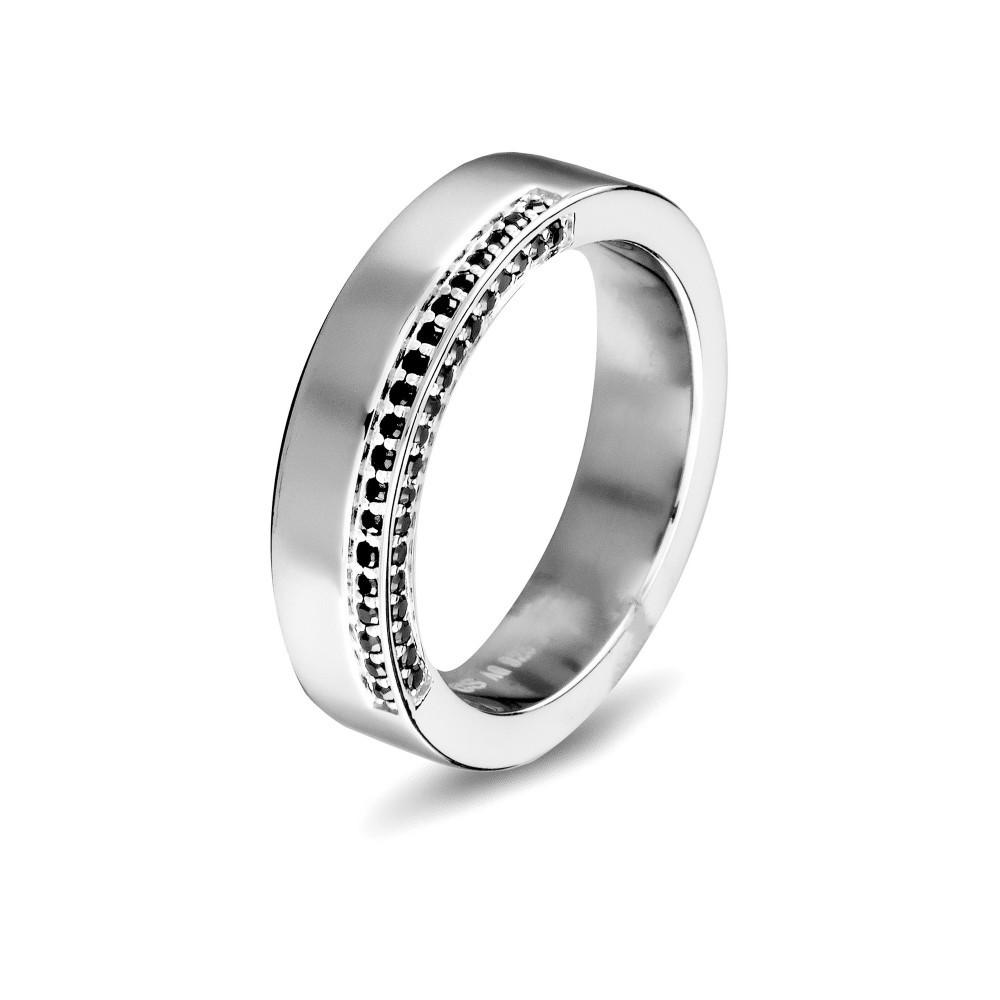 Zilveren damesring met zirkonia 625560087