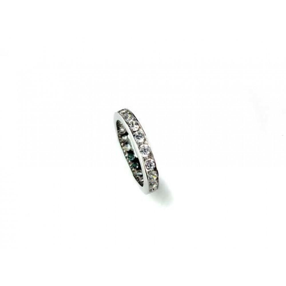 Zilveren damesring met zirkonia 625561008