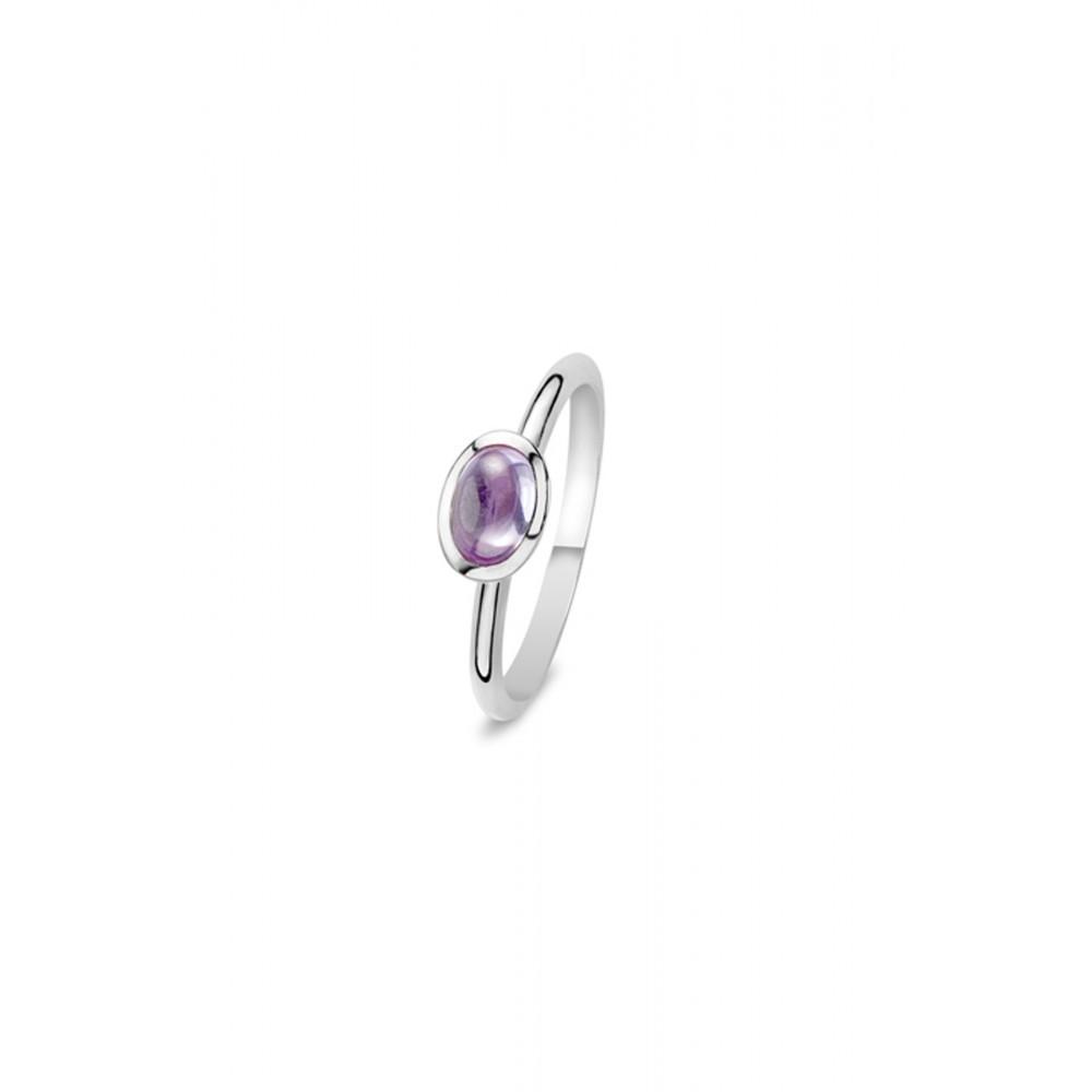 Zilveren ring met zirkonia 626653449