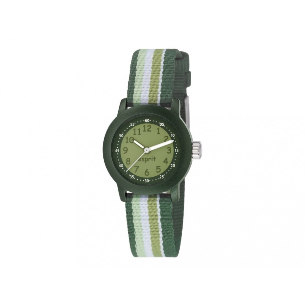 Horloge Beach Stripes Green ES106414014