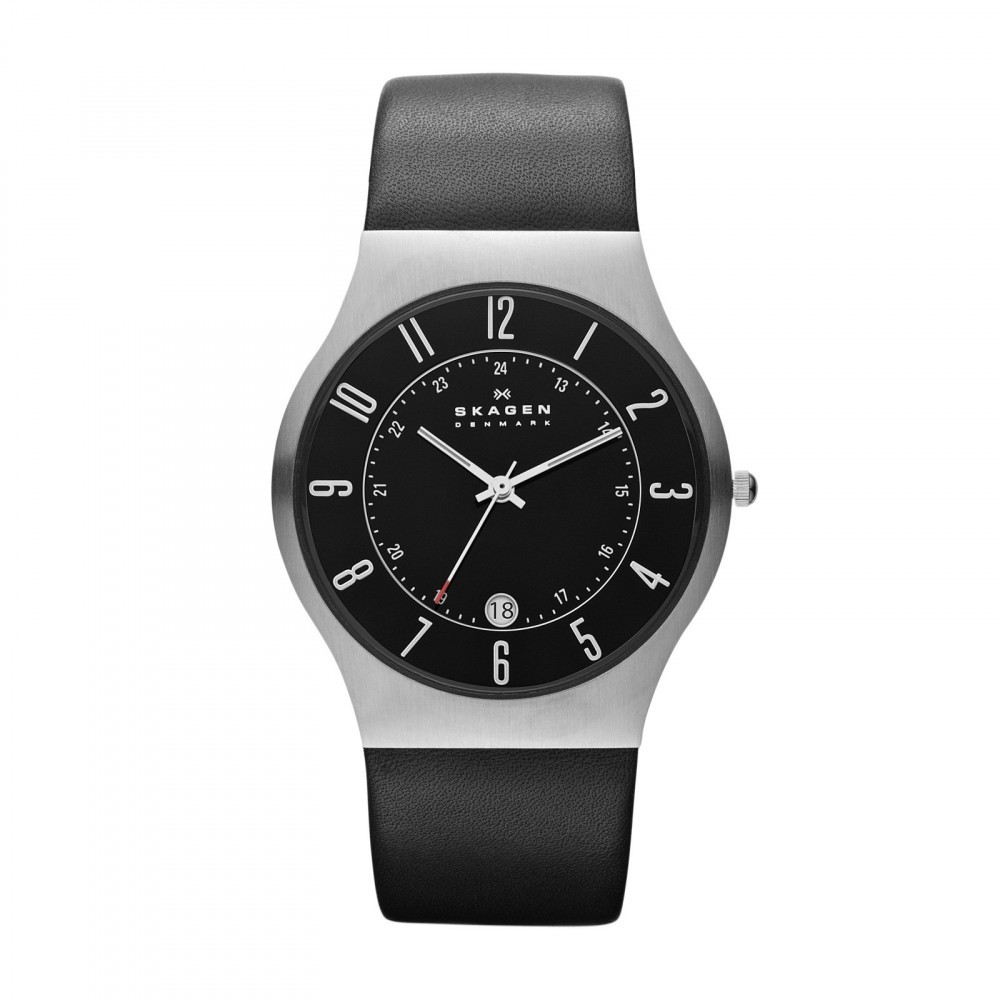 Herenhorloge Slimline Leather 233XXLSLB