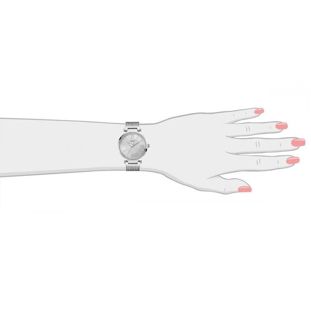 Dameshorloge Dress Silver W0638L1