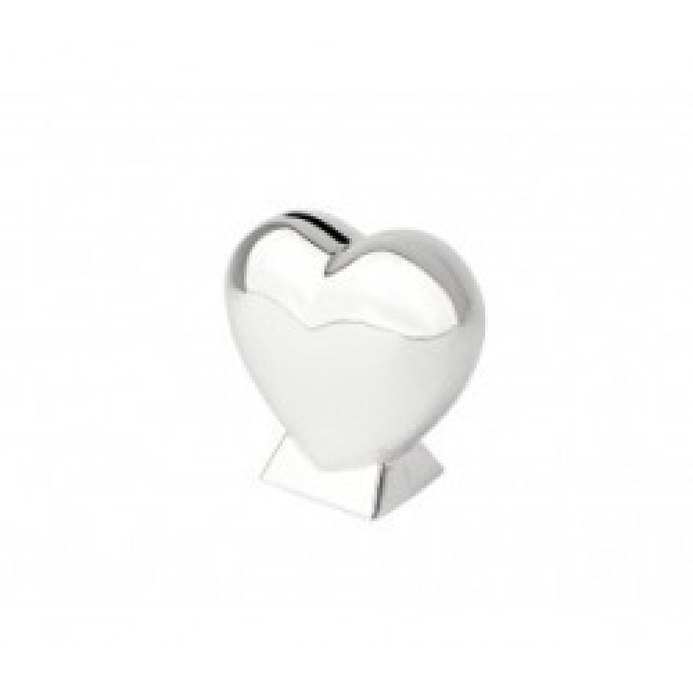 Spaarpot hart op voet 7280261