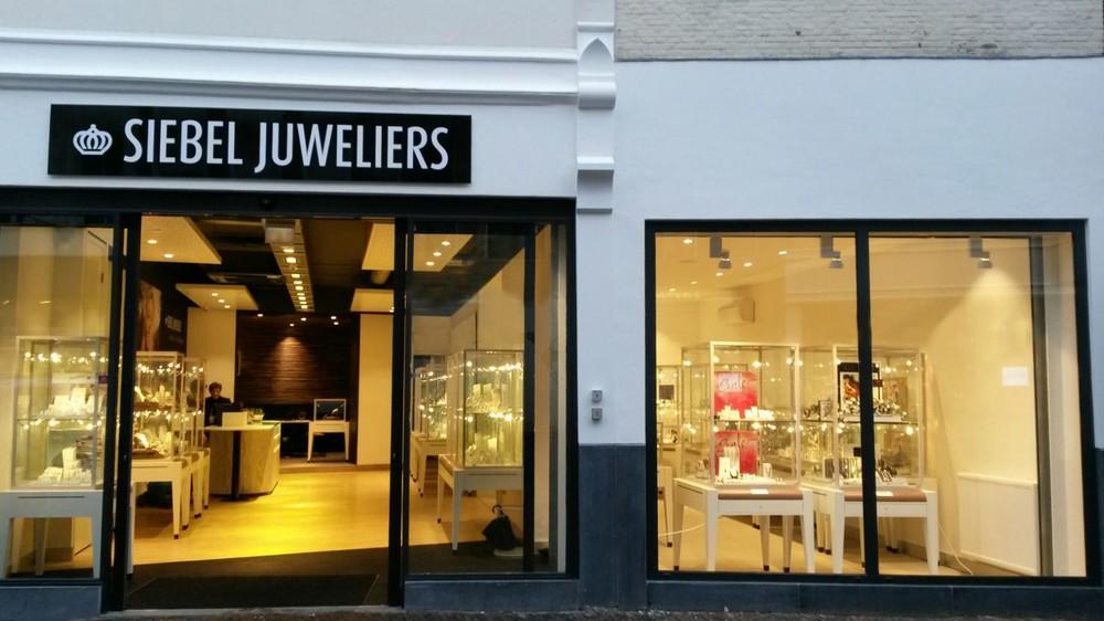 Entree Siebel Juweliers Haarlem