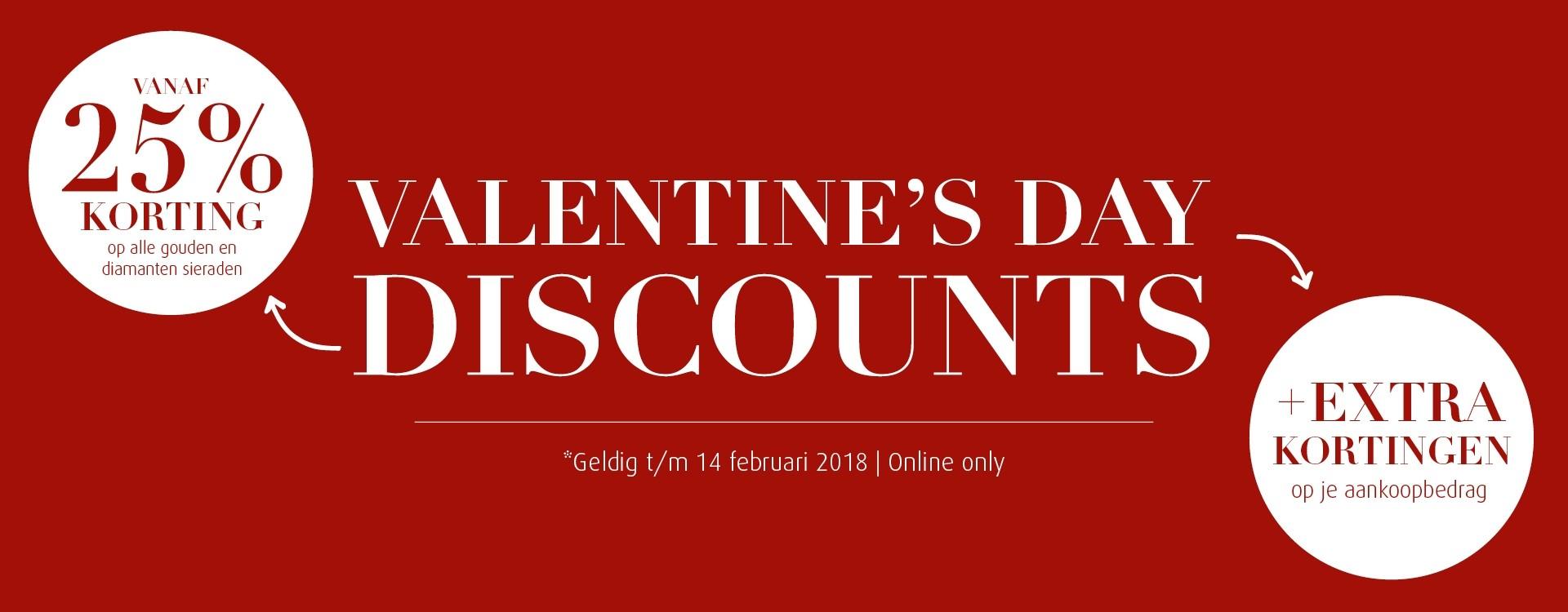 Valentine discounts