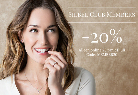 Siebel Club Members actie